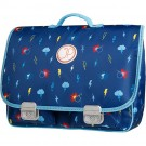 Boekentas met bliksems - schoolbag Paris large lighning