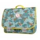 Boekentas met dino's - schoolbag Paris large dino