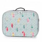 Koffer papegaaien- jeune premier mini suitcase posh parrots (Leverbaar half december) (Geboortelijst Babette V.K.)