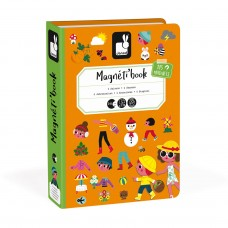 Magneetboek de vier seizoenen