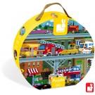 100-delige puzzel: de voertuigen