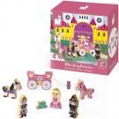 7- delig doosjes met houten figuurtjes : de prinses