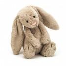 Klein zacht knuffelkonijntje 13cm - bashful bunny beige (Geboortelijst Felix D.M.)