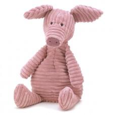 Zacht geribbeld roos varken - cordy roy pig