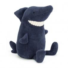 De lachende haai - Toothy shark