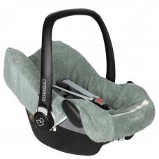 Saffierkleurige universele hoes voor draagbare autostoel