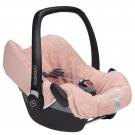 Oud roze universele hoes Antwerp voor draagbare autostoel  (Geboortelijst Camille C.)