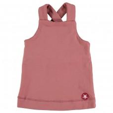 Zomers roze kleedje - dress salopette nude