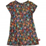 Fleurige bloementuniek - multi flowerd dress
