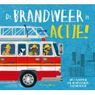 Flappenboek met bewegende elementen - de brandweer in actie