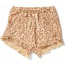 Shortje met bloemetjes - Reya frill shorts buttercup rosa