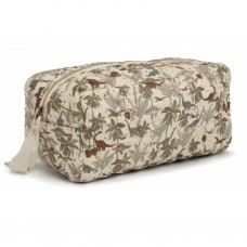 Toilettas - Quilted toiletry dino