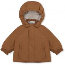 Karamelkleurige winterjas - Mismou jacket caramel