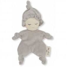 Lichtgrijs knuffelpopje- Miffi doll grey