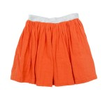 Muslin Skirt Adele red orange