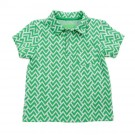 James Polo Jacquard Zigzag
