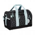 Zwarte sporttas/ weekendtas met spookjes - Mini sportsbag spooky black