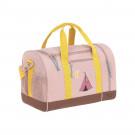 Oudroze sporttas/ weekendtas met tipi - Mini sportsbag adventure tipi