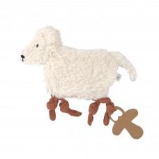 Knuffeldoekje schaap - Knitted baby comforter GOTS tiny farmer sheep