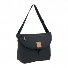 Zwarte verzorgingstas - Manu messenger bag black