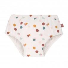 Witte zwemluier met vlekjes - Swim diaper girls spotted white
