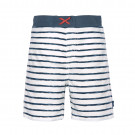 Wit blauw gestreepte zwemshort - Board shorts boys stripes navy