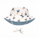 Omkeerbaar UV zonnehoedje met meeuwen - Sun protection bucket hat mr. seagull