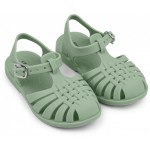 Muntgroene watersandaaltjes - Sindy watersandals dusty mint