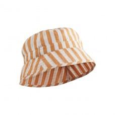 Jack bucket hat mustard stripe
