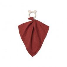 Knuffeldoek Dines teether cuddle cloth rusty classic dot