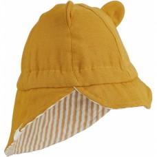 Mosterdgeel zonnehoedje - Cosmo sun hat mustard