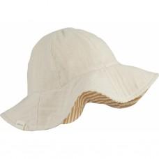 Zandkleurig zonnehoedje - Cady sun hat sandy