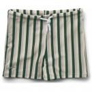 Groen gestreepte zwemshort - Otto swim pants garden green/sandy/dove blue