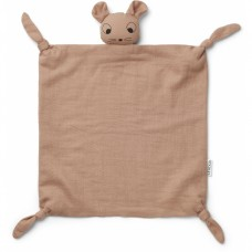 Oudroos knuffeldoekje muis - Agnete cuddle cloth mouse pale tuscany
