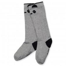 Kniekousjes panda 2-pack - grey melange