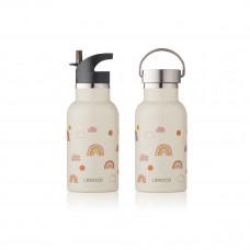 Drinkbus regenboog - Anker water bottle rainbow love sandy