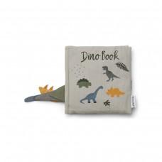 Stoffen activiteitenboekje - Dennis dino book dove blue mix