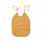 Afwasbare Xl slab met stipjes - Lai bib confetti yellow mellow