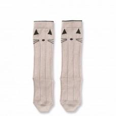 Kniekousjes kat - cat - maat 17/18 - 0/6m (Geboortelijst Nore Deckers)