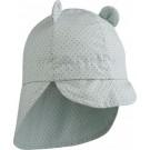 Zonnehoedje met klep : litlle dot dusty mint gorm sun hat