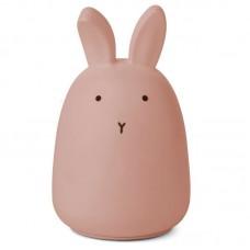 Nachtlampje konijn - Winston night light rabbit dark rose