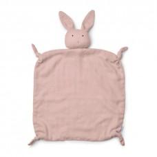 Oud roze knuffeldoekje konijn - Agnete cuddle cloth rabbit rose