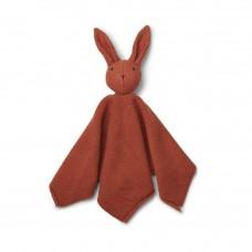 Terracottakleurig gebreid knufelkonijntje - milo knit rabbit rusty