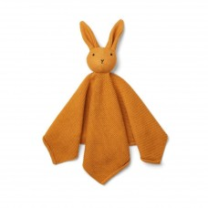 Mosterdgeel gebreid knufelkonijntje - milo knit rabbit mustard