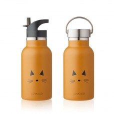 Drinkbus kat mustard - water bottle cat anker