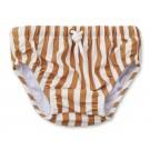 Frej swim pants mustard stripes creme de la creme