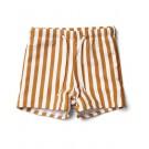 Otto swim pants stripe mustard creme de la creme