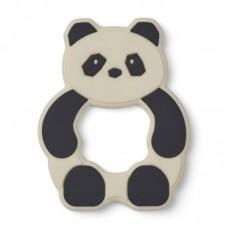 Silicone panda bijtspeeltje - Gerda teether panda creme de la creme