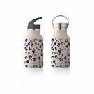 Drinkbus luipaardprint - water bottle leo beige