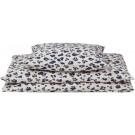 Zachte donsovertrek voor éénpersoonsbed met luipaardprint  - leo